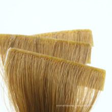 2020 New Product Human Hair Virgin Hair Tape Hair Top Quality Hand Made Hand Insert Strip Tape Hair Extension Remy Hair