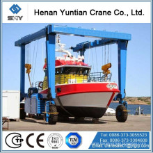 50 Ton Yacht Cranes, boat lift cranes More questions, please send message to me!