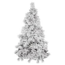Snowy Artificial Árbol de Navidad con decoración de cristal Artesanía de Navidad (TU75.300.00)
