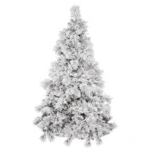 Snowy Artificial Christmas Tree with Decoration Glass Craft Christmas Light (TU75.300.00)