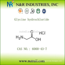 Glycine hcl 98.5%~101.5% CAS No. 6000-43-7