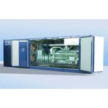 Ensemble de générateur de gaz silencieux (30kVA-4000kVA)