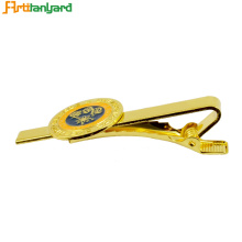 Factory Free sample for Custom Made Ties Personalized Gold Plated Soft Enamel Tie Clip supply to United States Exporter