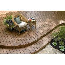 Wood Plastic Composite Decking mit hoher Qualität im Freien / Indoor Günstige WPC Bodenbelag