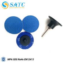 50 PACK discos de cambio rápido de óxido de circonio mini para pulir