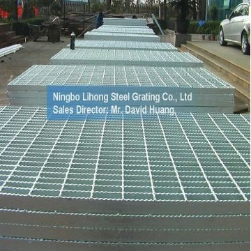 Verzinktem Stahl Gitter Plattform für Stock Gehweg