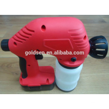 18V Ni-Cd Battery Powered Chargeable Electric Portable Wireless Mini Painting Gun Airless Cordless Paint Sprayer