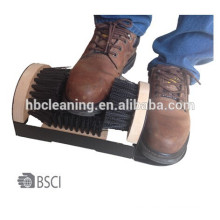 Cepillo de los zapatos de la cerda de los PP, cepillo de la nieve, cepillo de zapato de madera