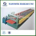 Única capa de acero CNC de color que forma la máquina Undulator / metal panel panel de techo