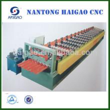Machine de fabrication de tôle de toit en aluminium / machine de fabrication de tôle d'acier / machines en acier laminé à froid