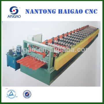 Máquina de fabricación de hoja de techo de aluminio / máquina de fabricación de hoja de acero / máquinas de acero laminado en frío