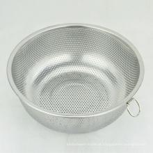 mini rodada de arroz em aço inoxidável legumes arroz malha filtro coador colanders