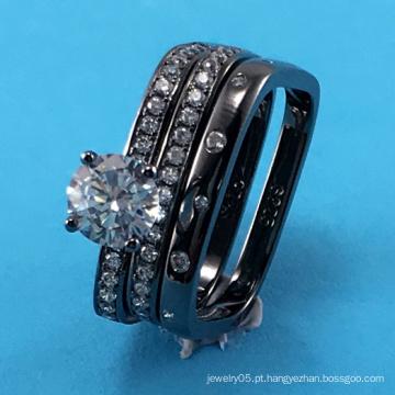 2015 Moda mais recente e boa qualidade 925 Sterling Silver Jewelry Ring (R10494)