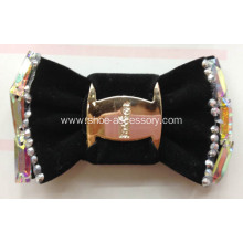 Handmade Footwear Trimming, Fashion Accessories of Shoe Clips with Colorful Stones Sewn