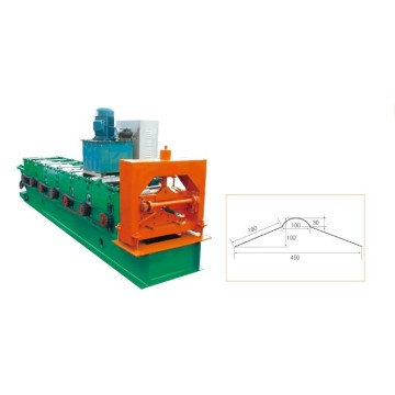 Aluminium Ridge Cap Making Machine