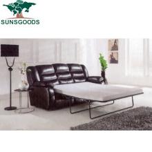 European Style Modern Home Theater Furniture Recliner Leather Cinema Sofa