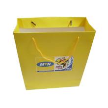 Kundengebundene Papiereinkaufstasche mit Griff für das Verpacken (SW109)