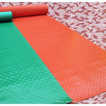 PVC pattern mats for bathroom door