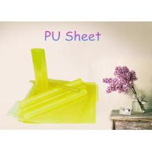 Feuille de PU transparent / feuille de polypropylène