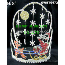 Noël tiare et couronne de rennes