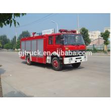 Dongfeng 4 * 2 drive Foam Fire truck para 2-14 metros cúbicos