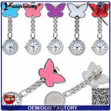 Yxl-958 Оптовые Медсестра Часы Четыре Лист Металл Медицинские Часы Симпатичные Цветки Candy Наручные часы