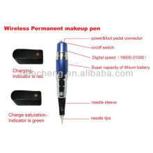 wireless Permanent makeup blue-pen & cheap makeup tattoo machine set