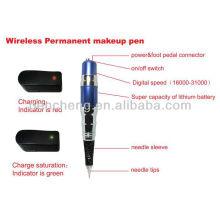 Беспроводной Перманентный макияж синяя ручка и дешевый набор татуировки для макияжа
