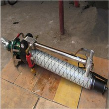 Pneumatic roof bolter for mining