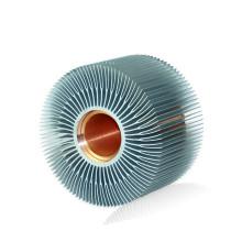 Profil de radiateur en aluminium extrudé personnalisé de haute qualité pour LED