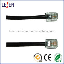 Rj11 Round Telephone Cable Are Available