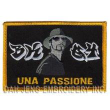 Emblemas bordados UNA Passione