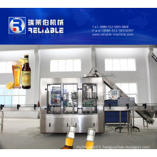 Computer Controlled Glass Bottle Beer Filling Machine