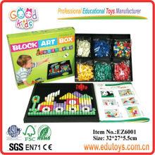 Juguetes plásticos de los rompecabezas de DIY educativos para los cabritos