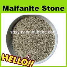 Traitement d'eau média filtrant naturel pierre de Maifanite