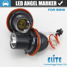 Hotsale Auto Light Populares High Power 10W E39 colores LED angel eyes