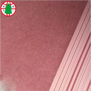 pink inflaming retarding MDF fireproof MDF sheet