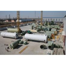 Tanque de almacenamiento de agua ultrapura Gfrp