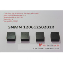 Solid CBN inserts SNMN120612 for turning hard steel cast iron miya@moresuperhard.com