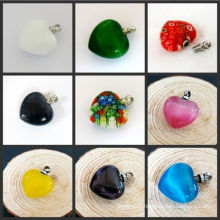 Glass Cremation Heart Pendant Wholsale Price