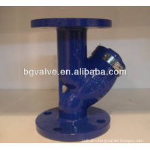 ANSI Y type carbon steel strainer