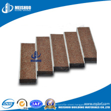 Extrusive Flexible Metal Stair Tread with Carborundum Inserts