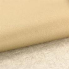146CM 60x40 + 40D / 245x98 160GSM tissu beige 97% coton 3% lycra stretch satin chemise tissu