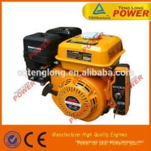 Multi-fuction pequeños 4 stoke 5.5hp gasolina engine168f para la venta
