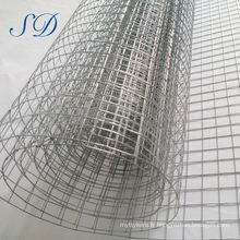 "3/4"" Galvanized Welded Wire Mesh Factory"