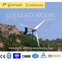 2KW pequeña eólica generador de viento turbina residencial AC en cuadrícula/rejilla viento desempeño sistema de energía