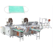 Máquina de fabricación de mascarillas quirúrgicas médicas faciales completamente automáticas