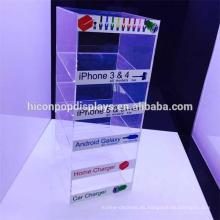 Accesorios del teléfono Tienda al por menor Multi-capa 3Mm Auricular de acrílico puro o pantalla de la pantalla del auricular