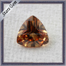 Trillian Cut CZ Gemstone para Joyería Cubic Zirconia