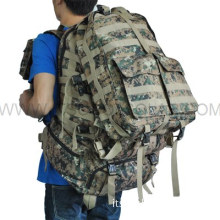 Military Solar Backpack with Solar Panel Laptop Charger